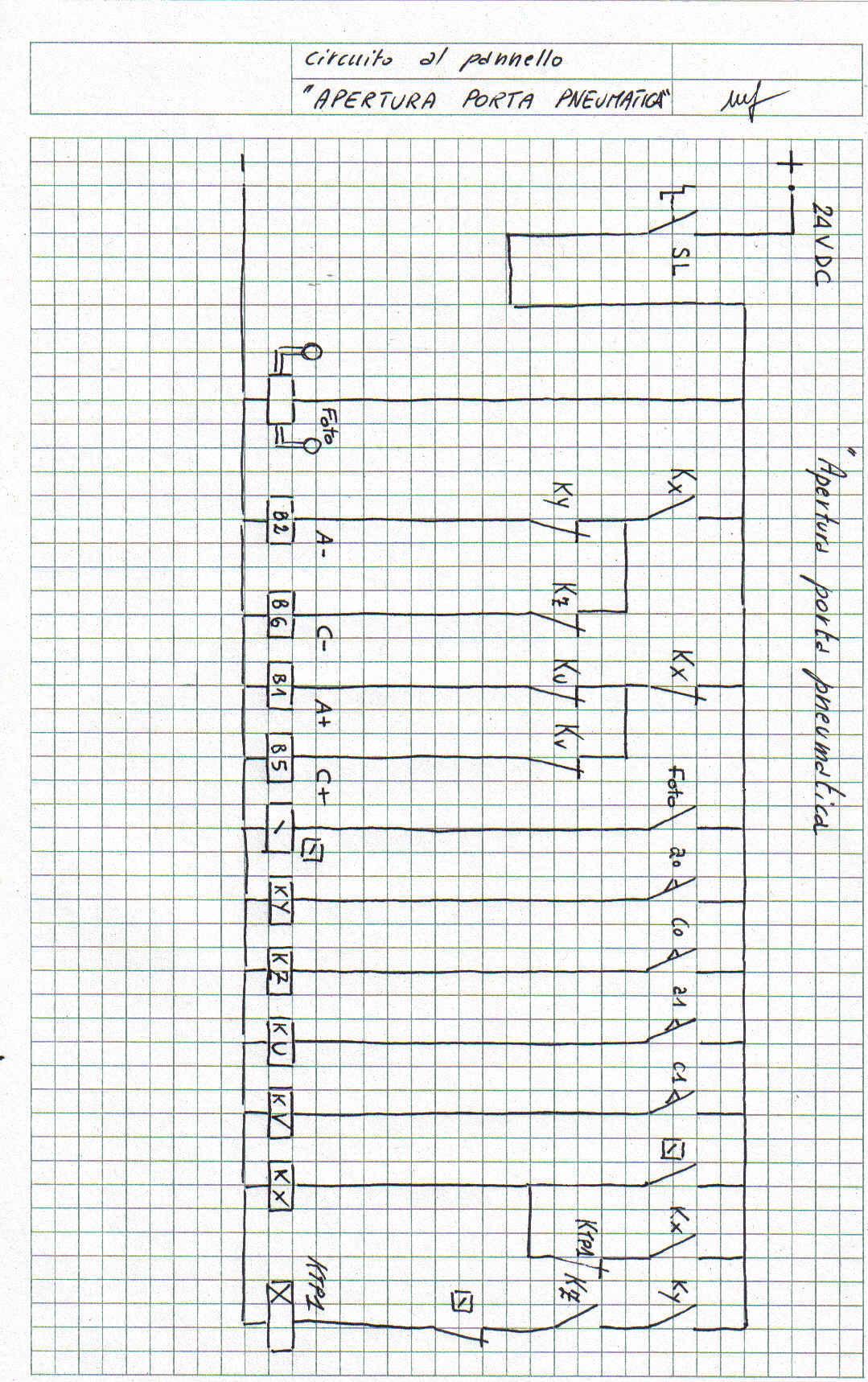 Schema Elettrico Per Finecorsa Motoriduttore : Frenatura in d c di motore asincrono con inversione